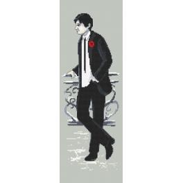 Wzór graficzny online - Sylwestrowy mężczyzna
