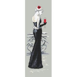Wzór graficzny online - Czarna dama