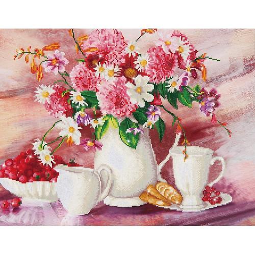Zestaw do diamond painting - Romantyczna herbatka