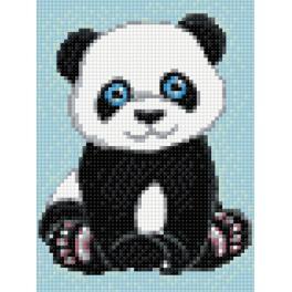 Zestaw do diamond painting - Mała panda