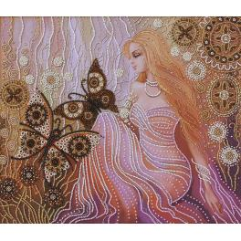 Zestaw z koralikami - Nimfa lasu