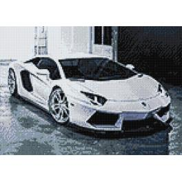 Zestaw do diamond painting - Lambo