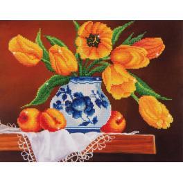Zestaw do diamond painting - Żółte tulipany
