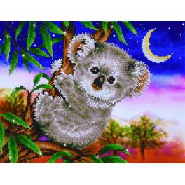 Zestaw do diamond painting - Koala