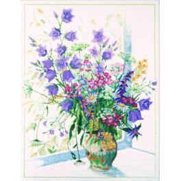 ZTM 052 Zestaw z muliną - Polne kwiaty
