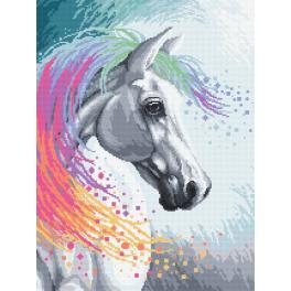 Kanwa z nadrukiem - Zaczarowany koń