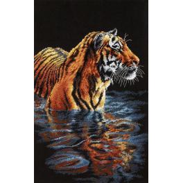 Zestaw z muliną - Tygrys w wodzie