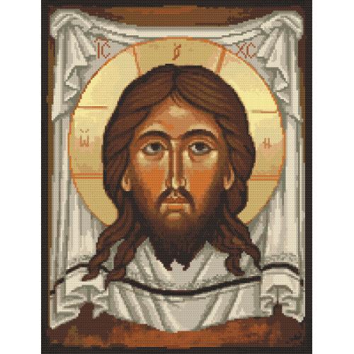 Zestaw z muliną - Ikona Chrystusa