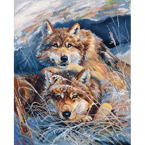 Zestaw z muliną - Idylla wilków