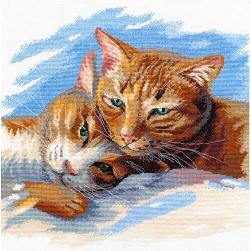 Zestaw z muliną - Kocie szczęście jest blisko