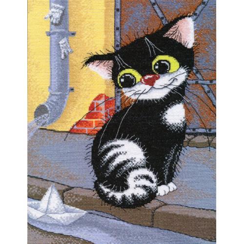 Zestaw z muliną - Wiosenny kot
