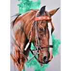 Zestaw do diamond painting - Głowa konia