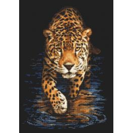 Wzór graficzny - Pantera - nocne łowy