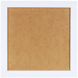 Ramka drewniana - kolor biały (23,2x23,2cm)