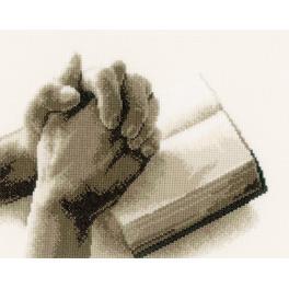 Zestaw z muliną - Ręce do modlitwy