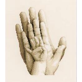 Zestaw z muliną - Dłonie