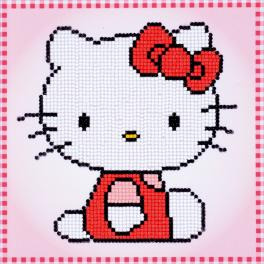 Zestaw do diamond painting - Hello Kitty