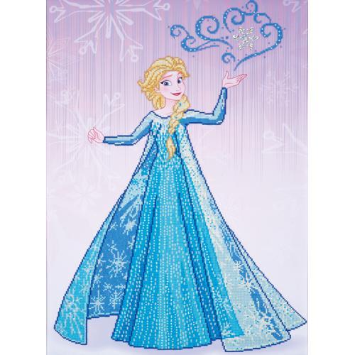 Zestaw do diamond painting - Elsa z Krainy Lodu