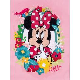 Zestaw do diamond painting - Minnie mówi ciii...