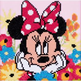 Zestaw do diamond painting - Rozmarzona Minnie