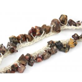 Naszyjnik z agatami