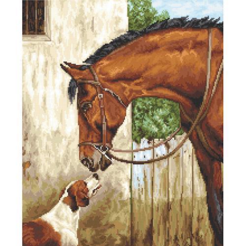 Zestaw z muliną - Klacz i pies