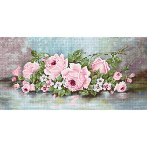 Zestaw z muliną - Róże