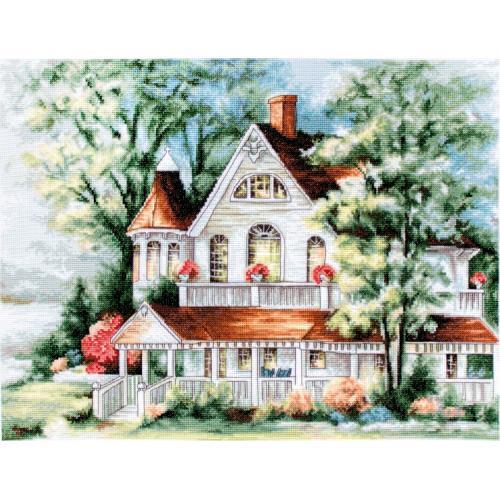 Zestaw z muliną - Dom nad jeziorem