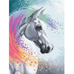 Zestaw do diamond painting - Zaczarowany koń