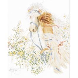 Zestaw z muliną - Koń