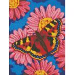 Zestaw do diamond painting - Motyl