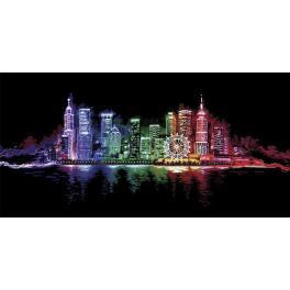 Zestaw z muliną - Nocne miasto