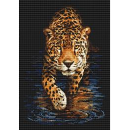 Zestaw do diamond painting - Pantera