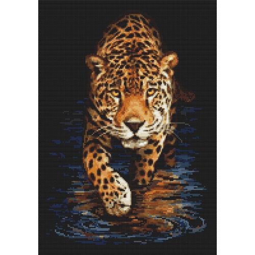 Zestaw do diamond painting - Pantera