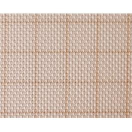 Kanwa AIDA Zweigart z kratką - gęstość 54/10cm (14 ct) ecru 90x110cm