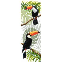 Wzór graficzny - Tukany