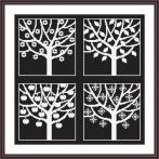 Wzór graficzny - Cztery pory roku