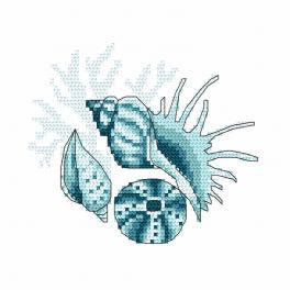 Wzór graficzny - Muszle morskie III