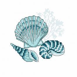 Wzór graficzny ONLINE - Muszle morskie I