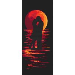 Wzór graficzny ONLINE - Romantyczna noc