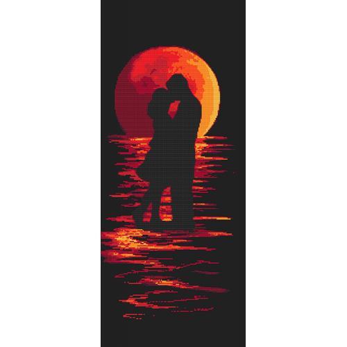 Wzór graficzny - Romantyczna noc