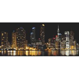 Wzór graficzny ONLINE - Miasto nocą