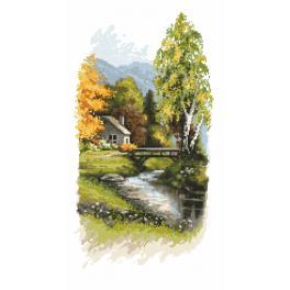 ZN 10193 Zestaw do haftu z nadrukiem - Zwiastuny jesieni