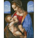 Zestaw do diamond painting - Madonna Litta