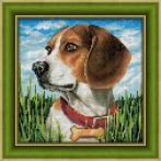 Zestaw do diamond painting - Beagle