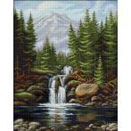 Zestaw do diamond painting - Wodospad