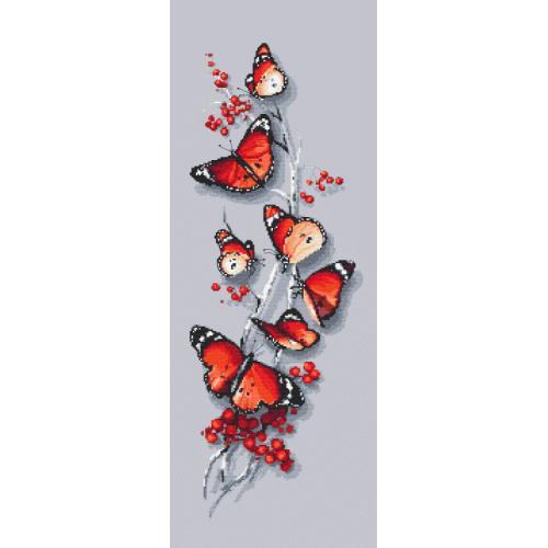 Wzór graficzny - Motyli czar
