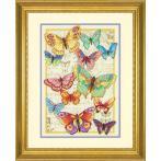 Zestaw z muliną - Piękno motyli