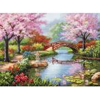 Zestaw z muliną - Japoński ogród