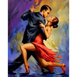 Zestaw do diamond painting - Tango